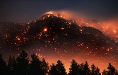 fire on the mountain.