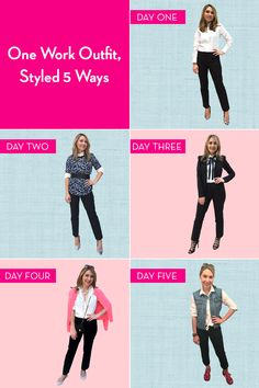 A woman wore the same outfit every day for a week...and loved it.