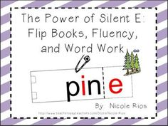 "This bundle contains fun, interactive, and exciting materials for you to teach about the ""Power of Silent E"" or CVCe pattern 2nd Grade Reading, Kindergarten Reading, Reading Activities, Teaching Reading, Teaching Ideas, Word Study, Word Work, 2nd Grade Classroom, Classroom Ideas"