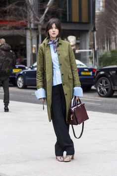 Back to basics: 48 ways to wear a trench coat - Vogue Australia