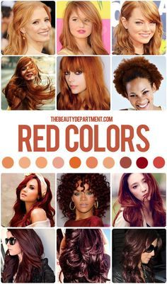 Warm it up! Our last hair color guide in this series is all about the many tones of red hair. Go check it out!
