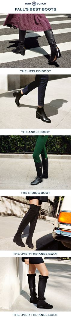 The Boot Guide: Classic or statement-making, over-the-knee or to the ankle, suede, leather or stretch — each pair opens up a world of styling possibilities.