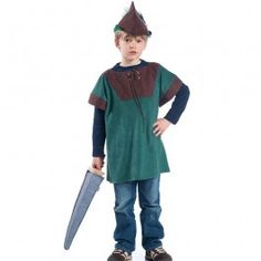 Woodsman's Tunic - Robin Hood Costume. Made in USA of high quality suedecloth. $43.95