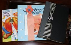 Easy DIY Ribbon Bookmarks - May Arts Ribbon All you need is ribbon, a pony tail holder, a button and thread!