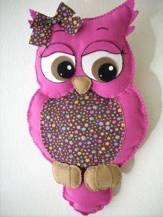 Felt Owls, Felt Birds, Felt Animals, Owl Sewing, Sewing Toys, Owl Crafts, Felt Baby, Owl Patterns, Needle Felted Animals