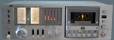 The JVC KD-85 stereo cassette deck had an unusual feature: a 5-band spectrum…