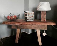 Bank & Lampe Holz