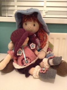 Holly Lottie and friend (Raggedy Baby Buttons) - Bunneez