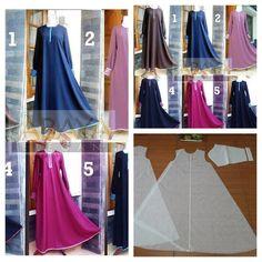 Super best seller pattern of flare gamis. Order by click our link/ line : modelliste #modelliste - modellistepattern
