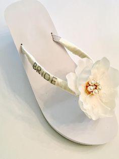 de15f50ff399e 455 Best Bridal Flip Flops images in 2019