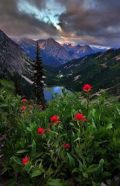 Lake Ann, North Cascades National Park, Washington State