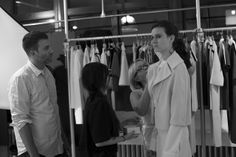 BEHIND THE SCENES AT LOUISE GOLDIN CR goes in the studio with the knitwear designer in the days leading up to her show