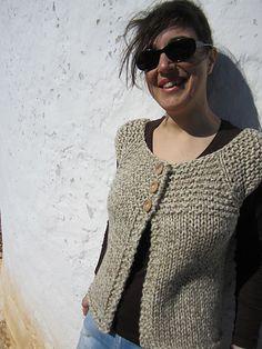 Ravelry: Cozy Cropped Bolero pattern by Lion Brand Yarn