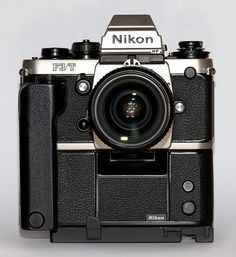 Titanium! F3/T with Motor Drive and Nikkor 35mm F2 lens, by wolf4max