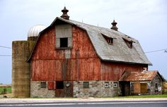 Great Barn Photo by Steve Apps...A  Barn that still can be seen while traveling the countryside in the beautiful State of Wisconsin. Monroe County on Hwy 27 just out of Cashton.