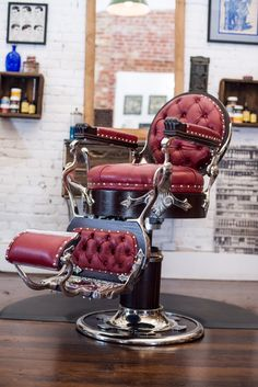1901 Koken Barber Chair-The Throne