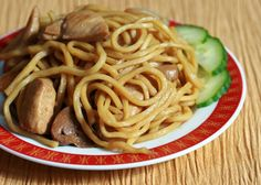 Chicken lo Mein Recipe  Going to be trying this tonight!!  5/1