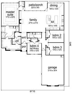 Awesome bungalow plan
