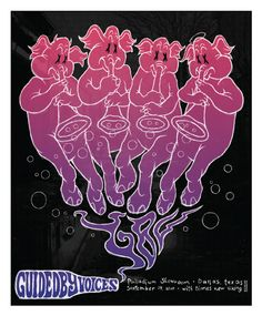 Guided by VoicesTexas Poster by Todd Slater