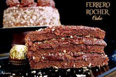 ALIMENTA: FERRERO ROCHER CAKE Y 4 AÑOS DE BLOG