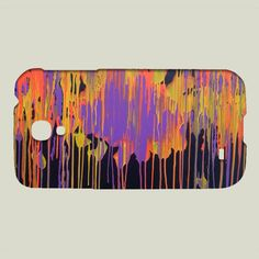 Fun Indie Art from BoomBoomPrints.com! https://www.boomboomprints.com/Product/pabloontaneda/Dripping/Galaxy_Cases/Samsung_Galaxy_S4_Slim_Case/