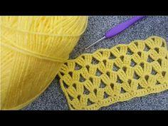 Modelo de chaleco de vendaje de ganchillo y patrón de punto - YouTube Turban Crochet, Bobble Crochet, Crochet Cord, Crochet Twist, Crochet Lace, Crochet Stitches, Irish Crochet Patterns, Crochet Designs, Knitting Patterns