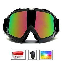 2c790cfae72e Feier Yusi Ski Snowboard Motorcycle Goggles for Men Women Youth