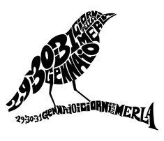 Bird Calligram