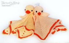 Pollo y pato Lovey CROCHET patrón instantánea por Bowtykes en Etsy