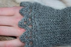 So far as I know: Wristwarmer in the cold .....