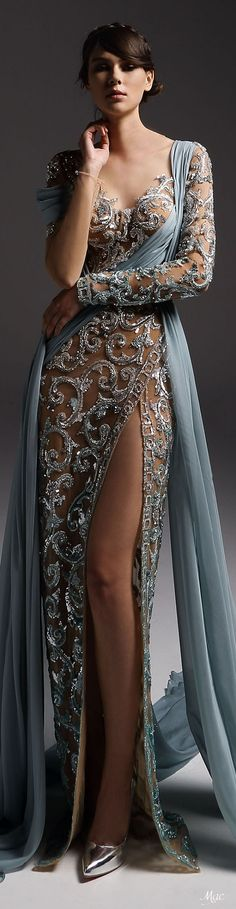 Fall 2018 Haute Couture Marwan & Khaled Couture Herbst 2018 Haute Couture Marwan & Khaled Couture Source by . Fashion Mode, Look Fashion, Couture Fashion, Runway Fashion, Trendy Fashion, Fashion 2018, Fashion Art, Fashion Design, Beautiful Gowns