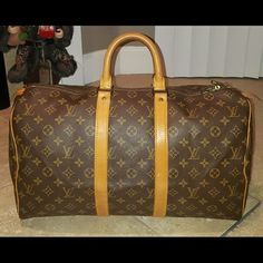 Louis Vuitton Keepall 45 In excellent condition. Has minor unnoticeable scuffs. Louis Vuitton Bags Travel Bags