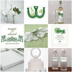 Items for making an Irish wedding spectacular