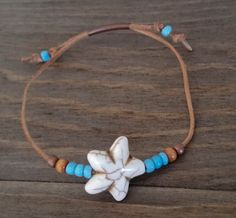 Boho adjustable starfish bracelet