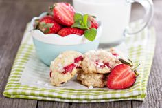 These Strawberry Shortcake Cookies Are A Delightful Spin On The Classic, Perfect For Summer!