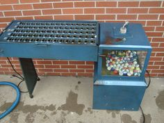 Commercial Capital Bingo Machine System Blower Cage, Balls, Console & Flashboard | eBay