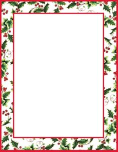 Merry Christmas Foil Stationery Sheets And White Red Foil