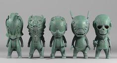 ArtStation - Character Sculpt for Glitch Network (Cillic wave 2nd), Pavee Keawmafai