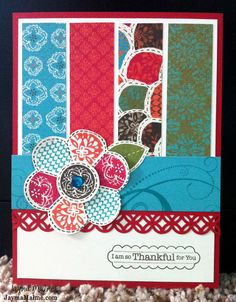 Playing with Paper: Scrapbooks, Cards | CTMH Independent Consultant: Stella Thank You Card - Peek at New CTMH Goodies!