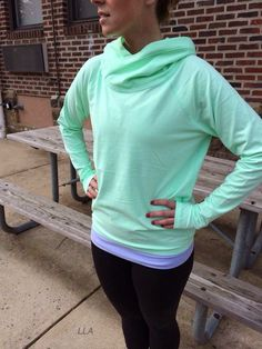 Lululemon - just bought with my teacher trainer discount and I love. So soft and what a fun color.