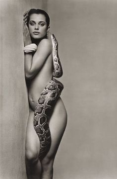 Nastassja Kinski, and the Serpent - June 1981 - Los Angeles, California - Vogue US - Photo by Richard Avedon