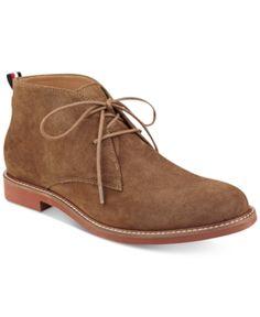 4c387a099947fd Tommy Hilfiger Men s Gervis Chukka Boots - Blue 8