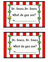 Tangled Up Teaching: Dr. Seuss Emergent Reader