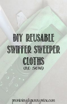 No sew, DIY Swiffer