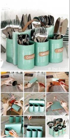 Creating awesome homemade cozy diy does not require serious artistic talent. Get inspired with these room diy easy to make wall decor diy ideas. Add your favorite quotes, emoji diy ideas and colors to Aluminum Can Crafts, Tin Can Crafts, Aluminum Cans, Diy Home Crafts, Room Crafts, Diy Simple, Easy Diy, Diy Wall Decor, Diy Home Decor