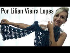 Blusa Ciganinha em crochê Por Lilian Vieira Lopes ( Parte 1) - YouTube