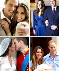 Twelve years after meeting HRH Prince William at The University of St. Andrews, commoner, Catherine Middleton and Prince William introduced the future King of Great Britain to the world on July 23, 2013.