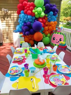 2nd Birthday Party For Boys, 1st Birthday Party Decorations, 1st Birthday Themes, Birthday Ideas, Birthday Centerpieces, Watermelon Birthday Parties, Leelah, Party Ideas, Birthdays