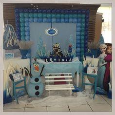 Ontem foi dia de Frozen para o aniversário da Letícia! #Frozen #festamenina #kidsparty #ratchimbum #novaodessa