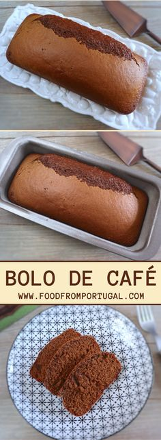 Feel like something sweet and simple to prepare? This delicious coffee cake is the ideal solution for you! It's very simple, has few ingredients and is delicious. It's perfect to serve for breakfast or at a snack with friends. Portuguese Desserts, Portuguese Recipes, Food Cakes, Peach Coffee Cakes, Sweet Recipes, Cake Recipes, Chocolate Cake With Coffee, Good Food, Yummy Food